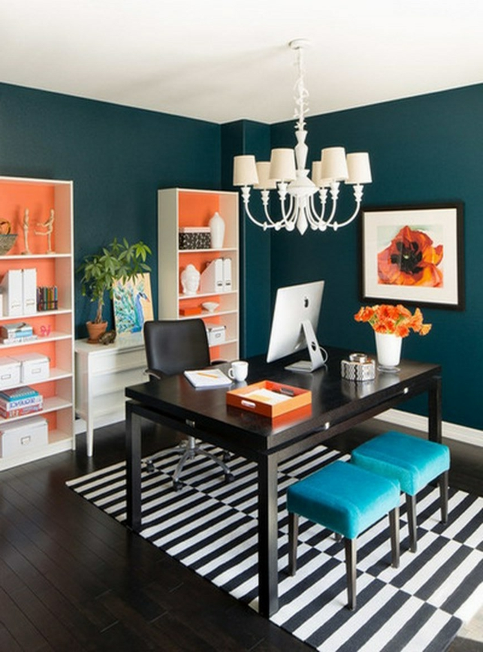60 wohnungseinrichtung ideen die fr hlingsfarben in der. Black Bedroom Furniture Sets. Home Design Ideas