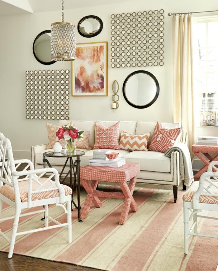 60 wohnungseinrichtung ideen die fr hlingsfarben in der for Wohnungseinrichtung ideen