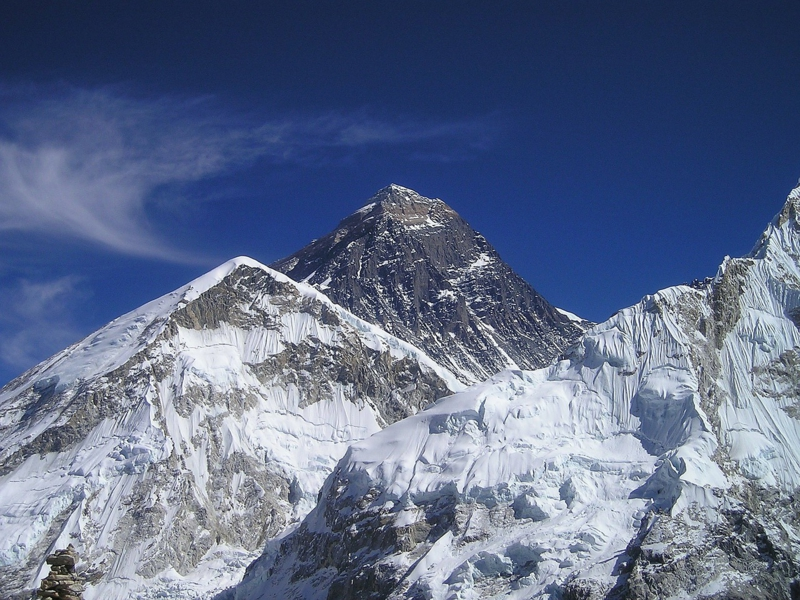 Bergsteiger Ziele weltweit Gipfelstürmer alle Kontinenten
