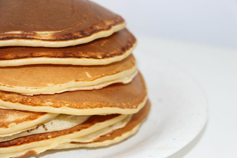 Eier Ersat Pfannkuchen vermeiden vegane Ernährung