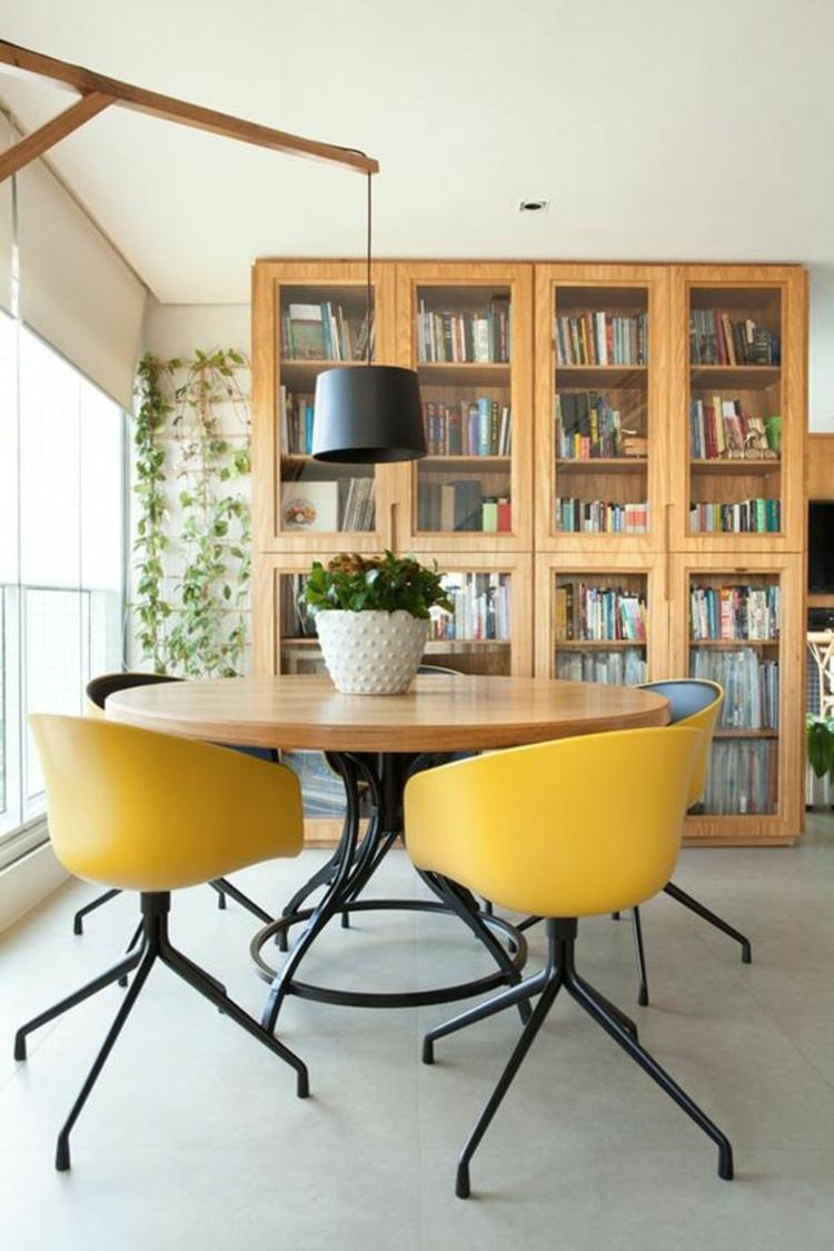 Esszimmermöbel holz  Esszimmer einrichten: 60 Einrichtungsideen und Beispiele