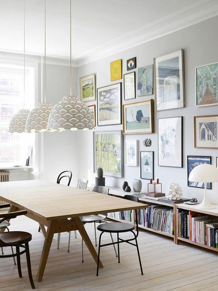 Einrichtungsbeispiele Esszimmer Ideen Speisezimmer Möbel Bücherregal