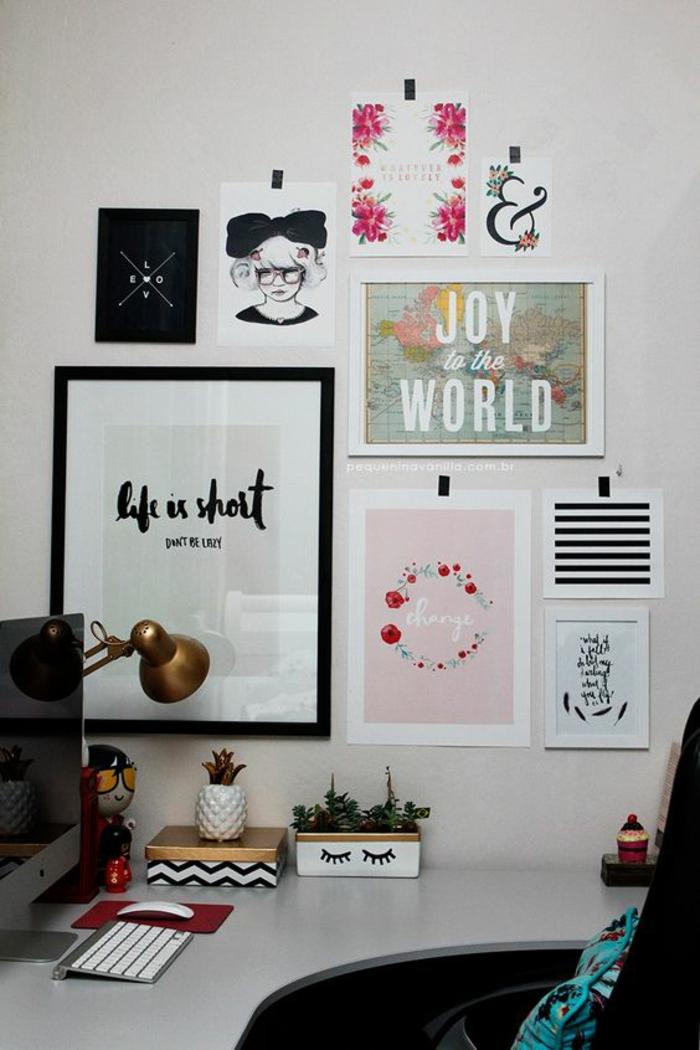 Einrichtungstipps Büroeinrichtung Büromöbel Deko Ideen Home Office einrichten