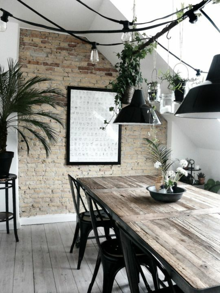 Esszimmer einrichten 60 einrichtungsideen und beispiele - Simple interior design of kitchen ...