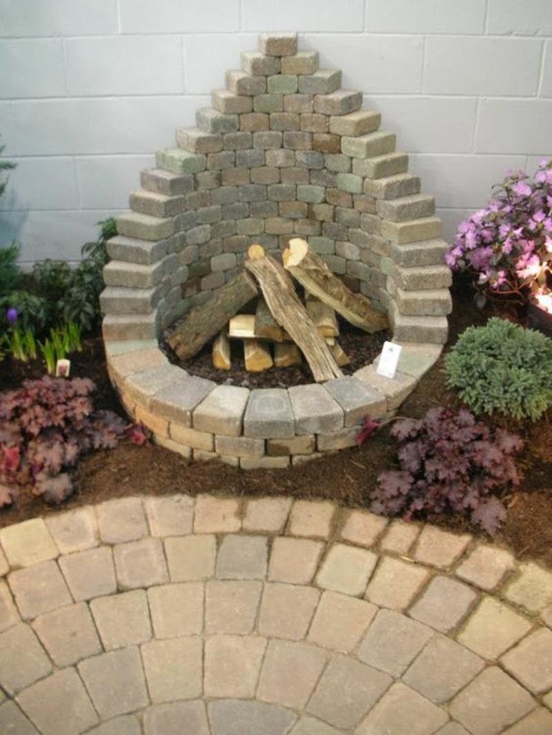 Feuerstelle garten gestalten  Wie können Sie eine Feuerstelle bauen? - 60 Fotobeispiele