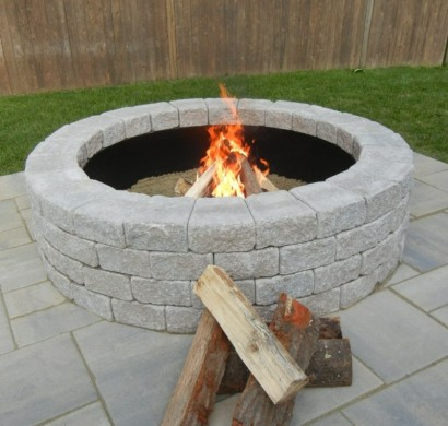 Wie k nnen sie eine feuerstelle bauen 60 fotobeispiele - Feuerstelle selber machen ...