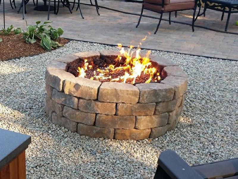wie können sie eine feuerstelle bauen? - 60 fotobeispiele, Garten und Bauen