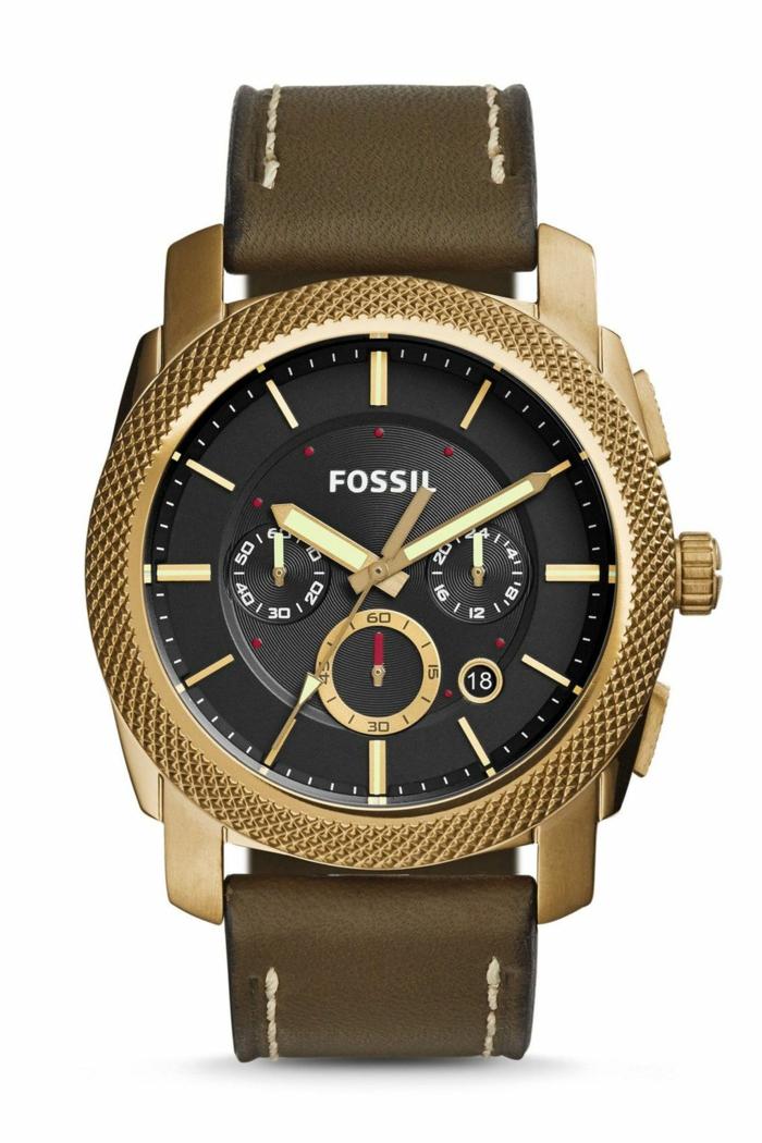 Fossil Uhrenmarken Herren Mode Herrenarmbanduhren
