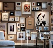 50 Fotowand Ideen, an die Sie vielleicht noch nicht gedacht haben