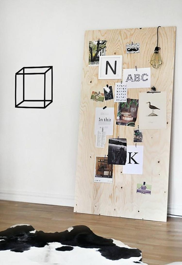 Ideen für Fotowand und Beispiele Fotowand selber machen Wände dekorieren