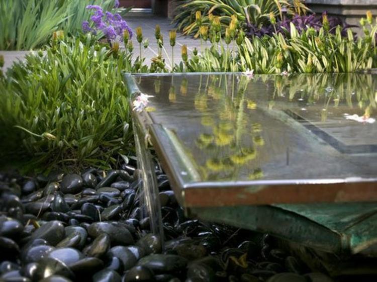 Garten-Teich-Bilder-japanischer-Garten-Wasserquelle-Garten