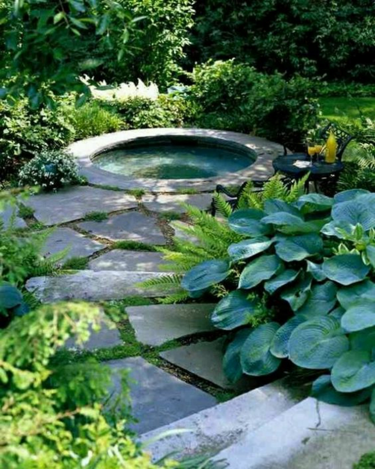 1001 ideen und gartenteich bilder f r ihren traumgarten for Pond shade ideas