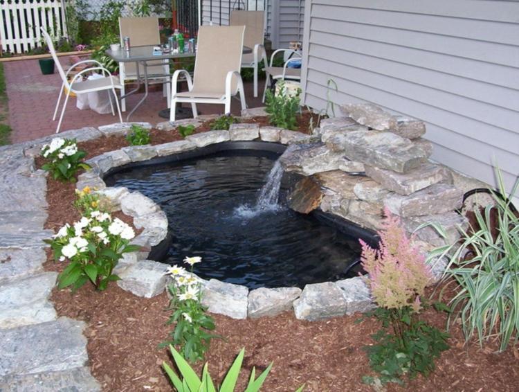 73 gartenteich bilder lassen sie von einem pr chtigen for Small pond filter design