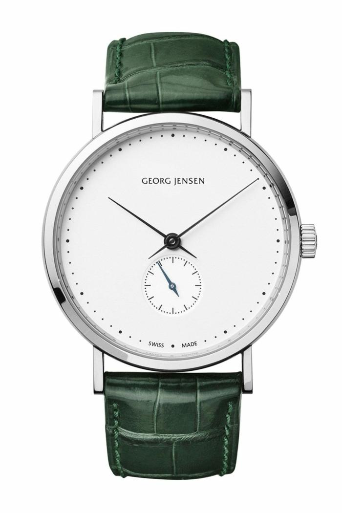 Georg Jensen Uhrenmarken Herren Mode Herrenarmbanduhren