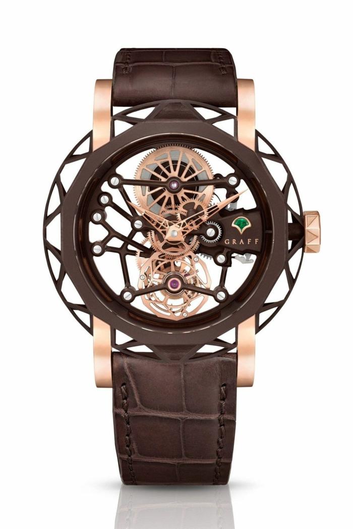 Graff Uhrenmarken Herren Mode Herrenarmbanduhren