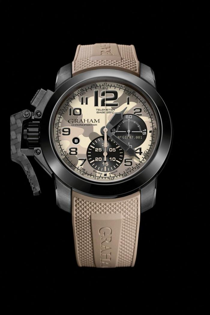 Graham 1695 Uhrenmarken Herren Mode Herrenarmbanduhren