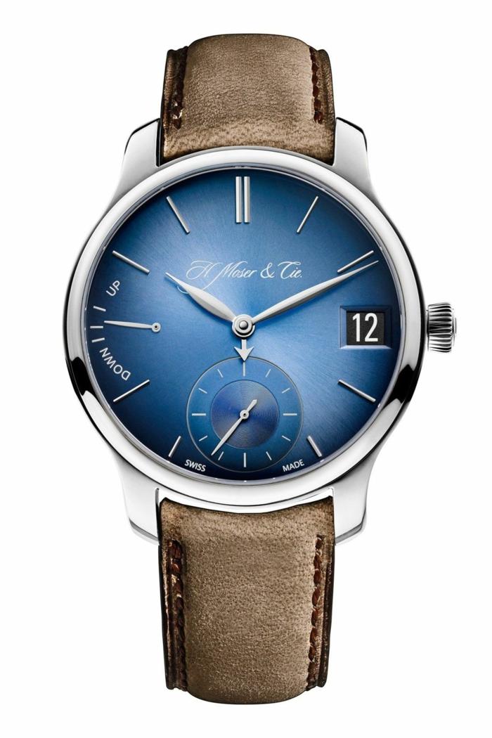 H Moser Uhrenmarken Herren Mode Herrenarmbanduhren