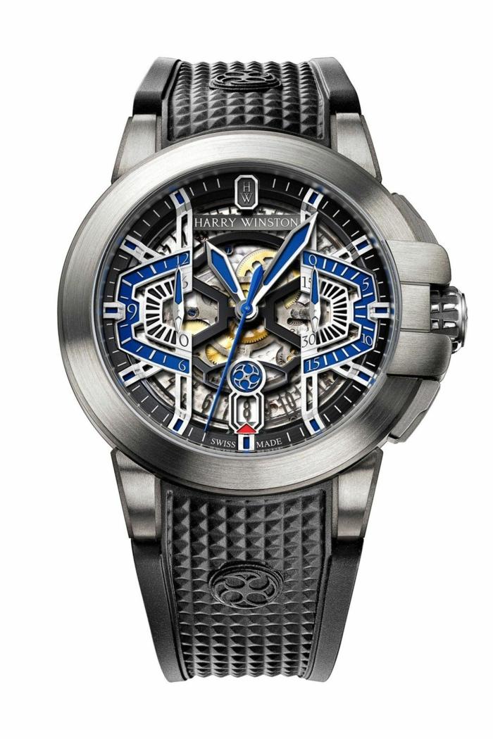 Harry Winson Uhrenmarken Herren Mode Herrenarmbanduhren