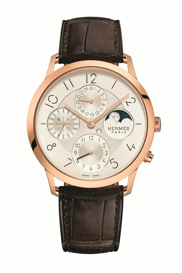 Hermes Uhrenmarken Herren Mode Herrenarmbanduhren