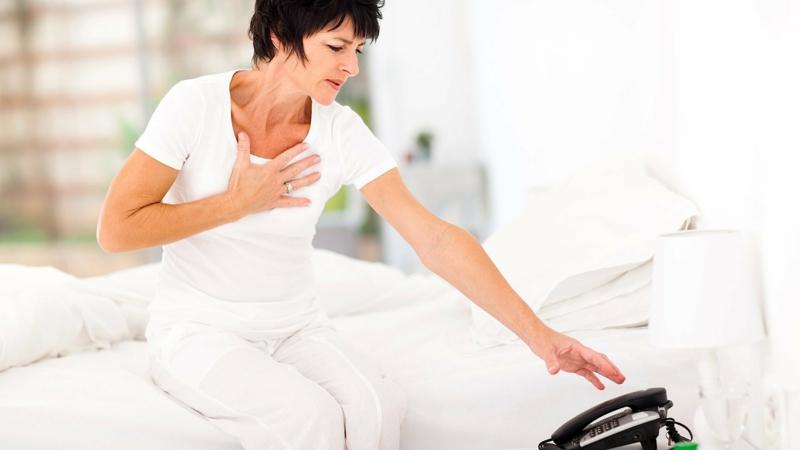 Welche sind die symptome von herzkrankheiten bei frauen for Blasenschw che bei frauen