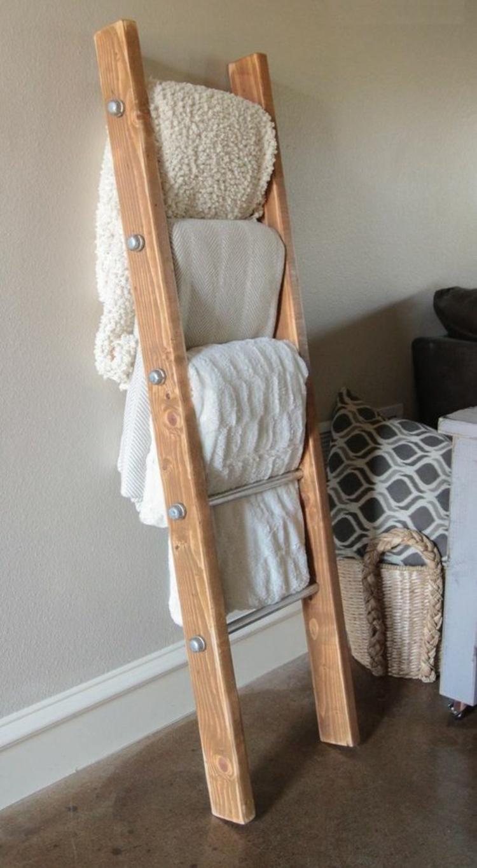 Holzleiter Wohnzimmer Möbel Holzboden Decken