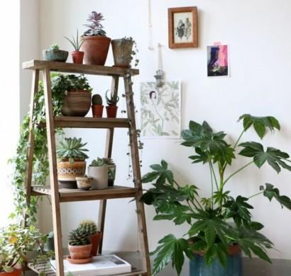 DIY Projekte mit Holzleiter: 20 inspirierende Bilder und Ideen zum ...