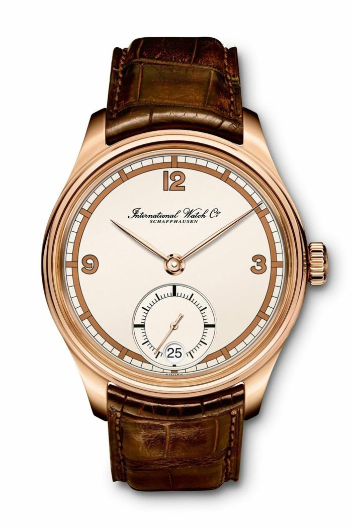 IWC Uhrenmarken Herren Mode Herrenarmbanduhren