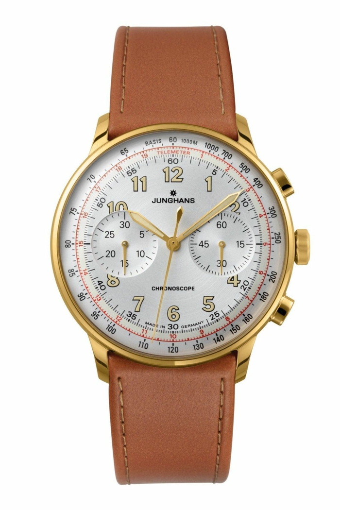 Junghans Uhrenmarkan Herren Mode Herrenarmbanduhren