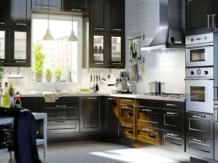 Küchenplanung Ikea Küchen creme baige gemütlich