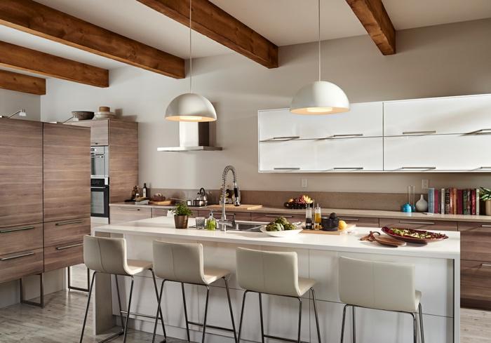 Küchenplanung Ikea Küchen edelstahl holz