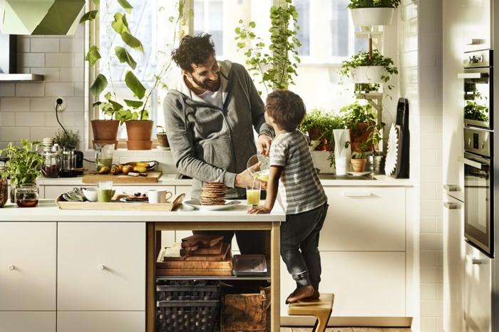 Küchenplanung Ikea Küchen edelstahl küchenkraut
