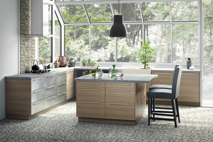 Küchenplanung Ikea Küchen edelstahl