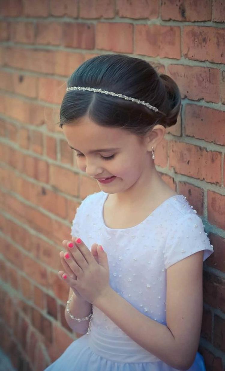 Kommunionfrisuren Zum Selbermachen Festliche Kinderfrisuren Für Mädchen