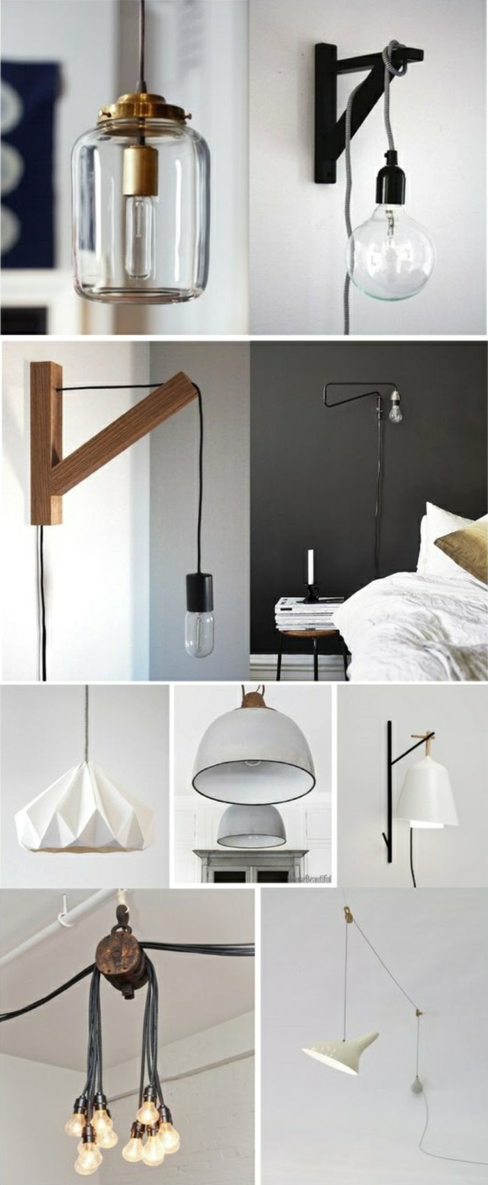 lampen schlafzimmer ideen ideen f r die innenarchitektur. Black Bedroom Furniture Sets. Home Design Ideas