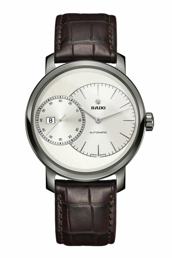 Rado Uhrenmarkan Herren Luxusuhren Herrenarmbanduhren