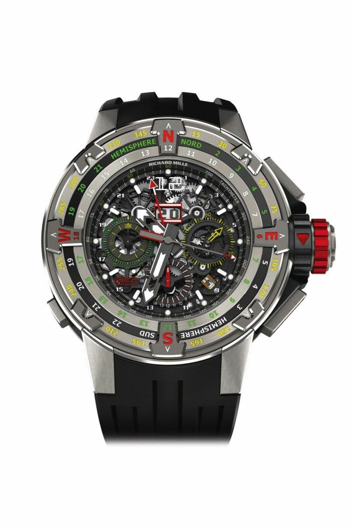 Richard Mille Uhrenmarken Herren Luxusuhren Herrenarmbanduhren