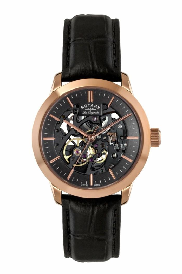 Rotary Uhrenmarken Herren Luxusuhren Herrenarmbanduhren