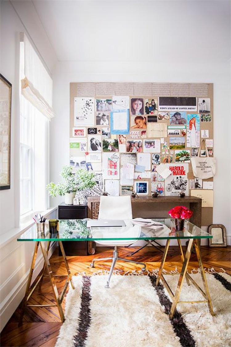 Schreibtische Glasschreibtisch Home Office einrichten