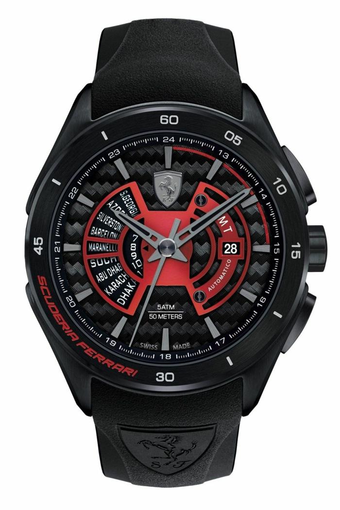 Scuderia Ferrari Uhrenmarken Herren Luxusuhren Herrenarmbanduhren