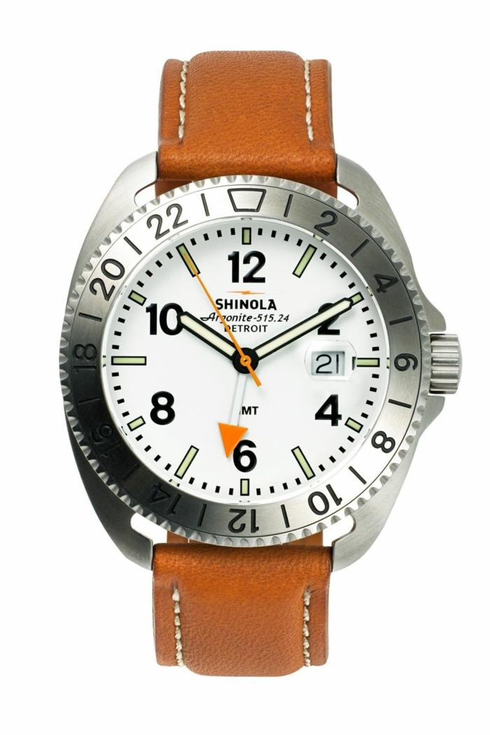Shinola Uhrenmarken Herren Luxusuhren Herrenarmbanduhren