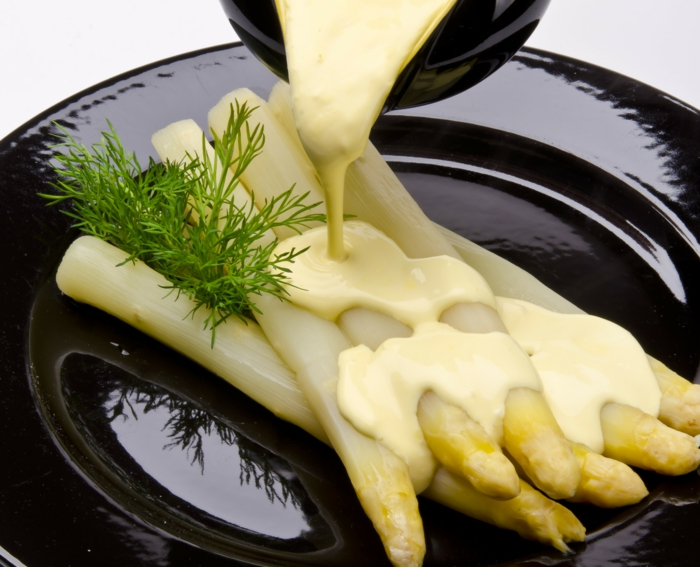 Spargelrezepte Spargel kochen Spargel gesund spargelzeit morgens