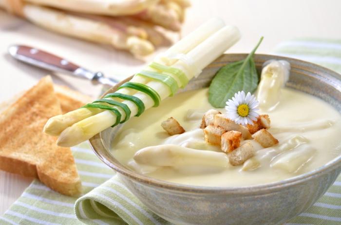 Spargelrezepte Spargel kochen Spargel gesund spargel schälen
