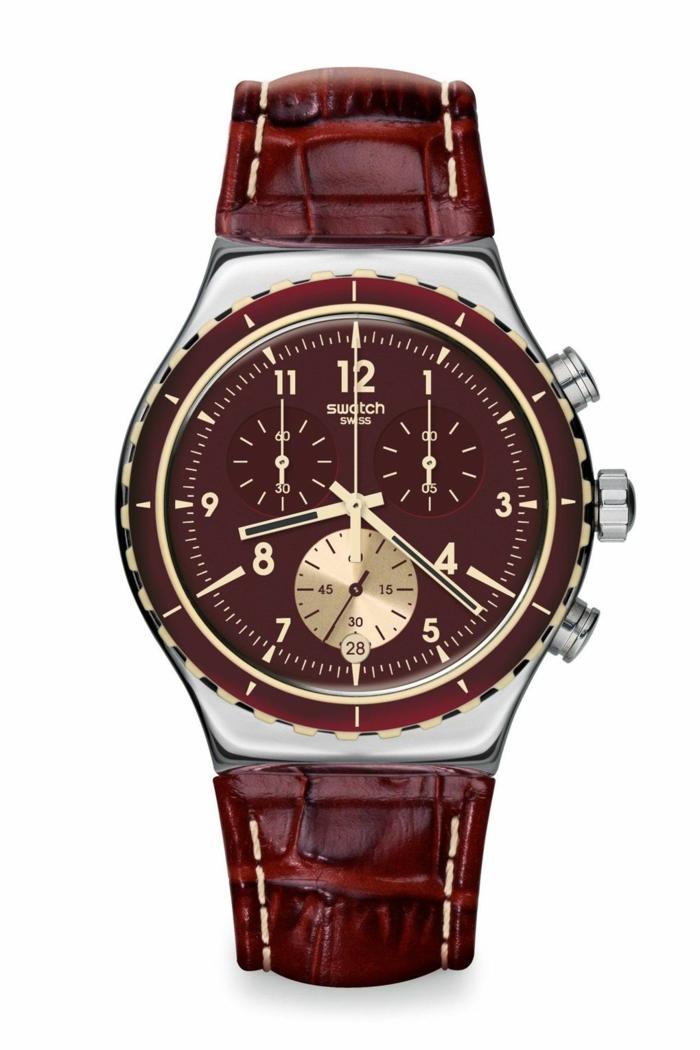 Swatch Uhrenmarken Herren Luxusuhren Herrenarmbanduhren