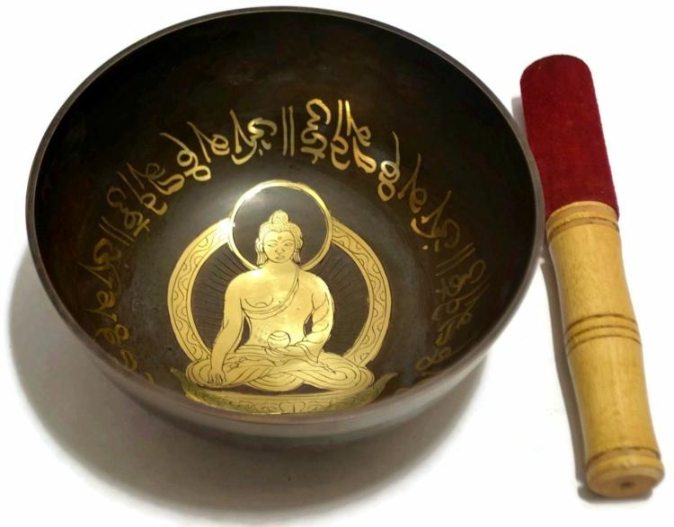 Tibetische Klangschalen fernöstliche Kultur Buddhismus