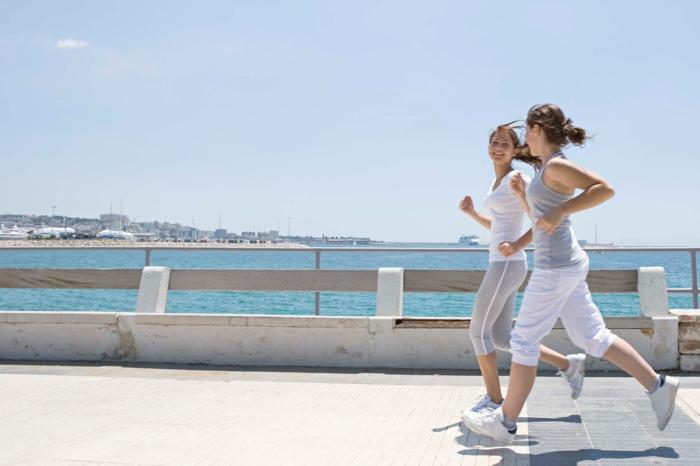 abnehmen gesund essen sport treiben