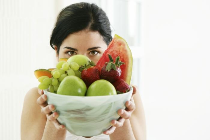 abnehmen gesund früchte essen richtige ernährung tipps