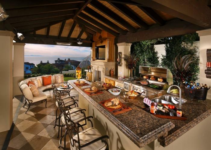 Möbel Für Außenküche : Außenküche selber bauen gute ideen und wichtige tipps