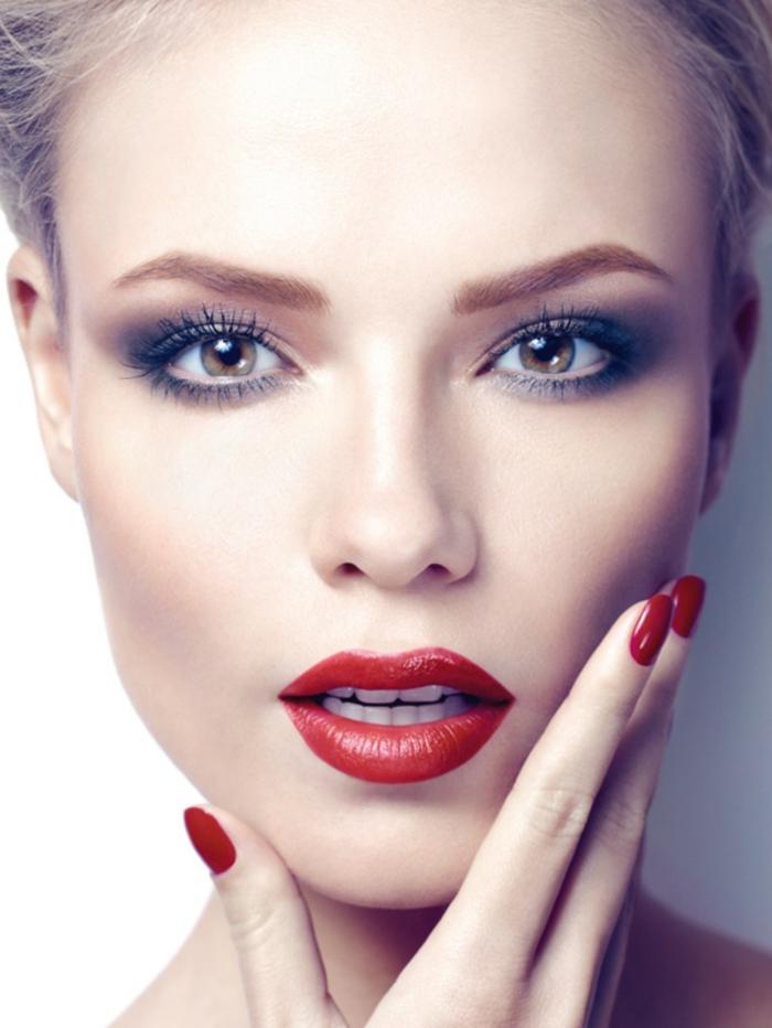 Augen Schminken Smokey Eyes Hell Makeup Tipps