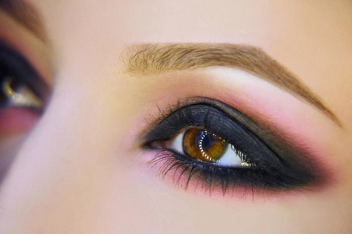 augen schminken smokey eyes ideen farben