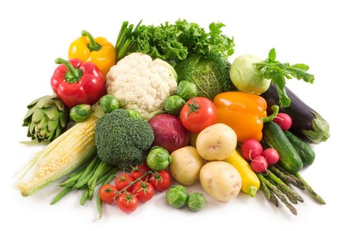 ausgewogene ernährung abwechslungsreich gemüse essen